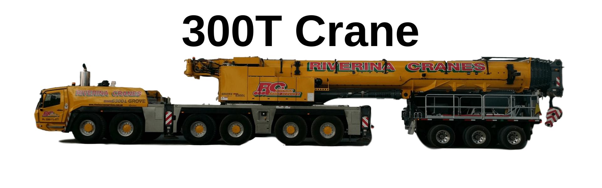 300T Crane